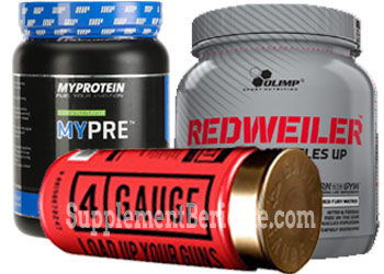 Top 3 Pre-Workout Booster
